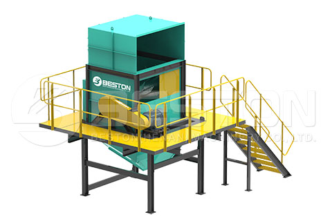 Bag Breaker of Waste Sorting Line