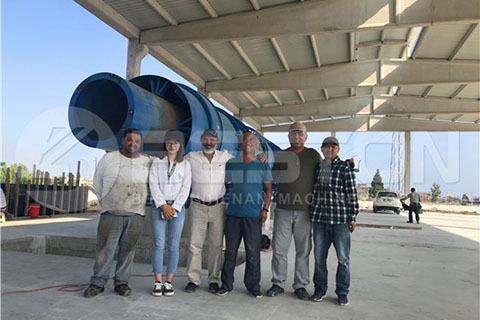 Beston Engineers en Turquía
