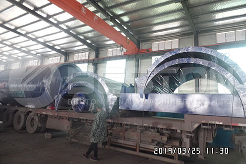 Casing of Tyre Recycling Machine