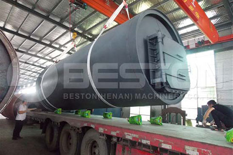 Waste Pyrolysis Plant to South Africa
