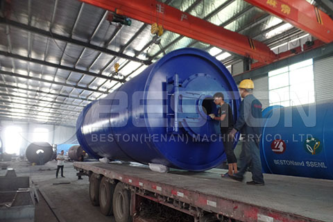 rubber recycling equipment