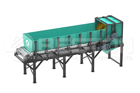 Uniform Distribution Machine of Waste Sorting Machine