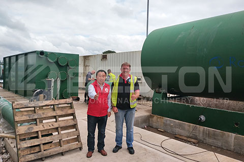 Pyrolysis Oil Plant in the UK