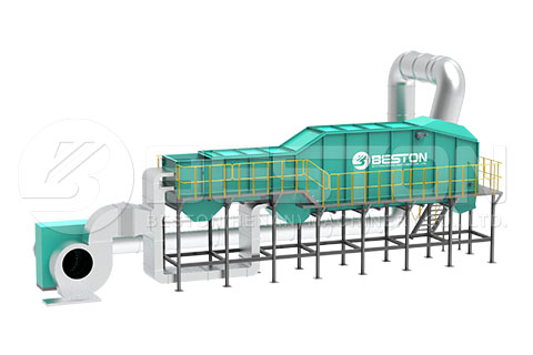 Winnowing Machine of MSW sorting plant