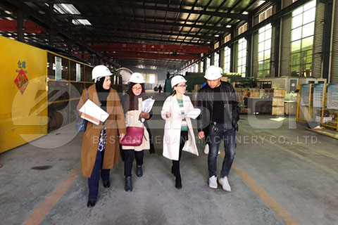 Customers from Malaysia Visit Beston
