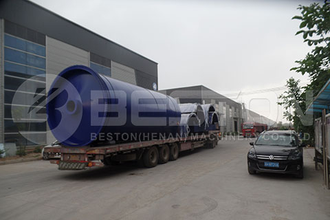 Rubber Pyrolysis Machine to Korea