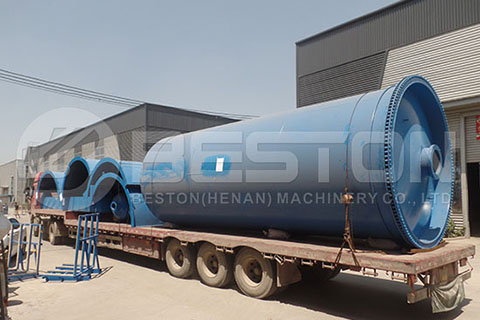 Oil Sludge Pyrolysis Machine