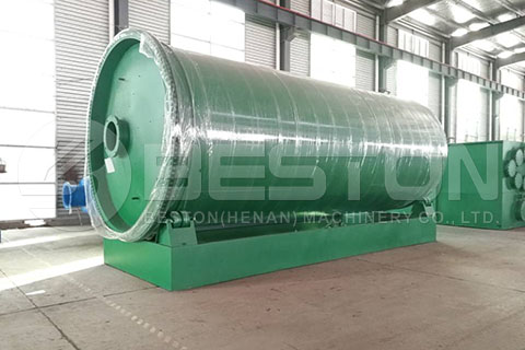 BLJ-16 Pyrolysis Plant to the Philippines