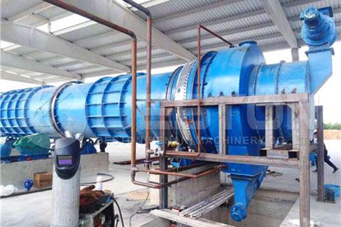 Biochar Production Equipment in Turkey