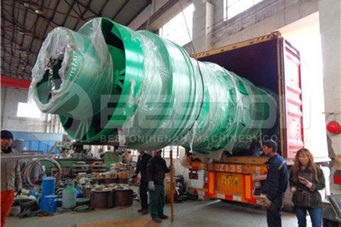 Biochar Production Equipment to Spain
