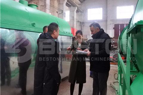 Customers Visit Beston Factory