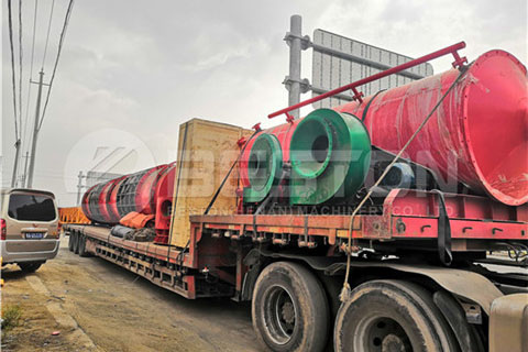 Biochar Machine to Russia