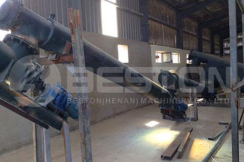 Discharging System of Waste Tyre Oil Plant