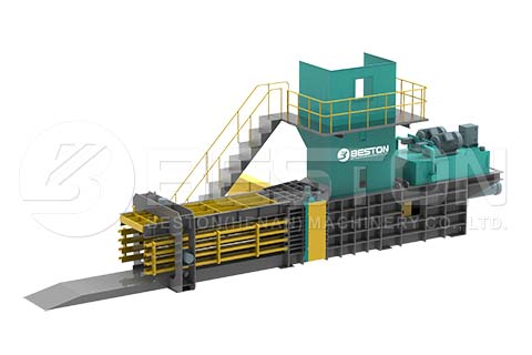 Packer for Garbage Separation System