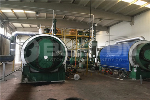 Waste Tire Pyrolysis Plant in Turkey