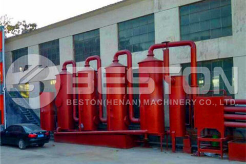De-dusting System for Bamboo Charcoal Making Machine
