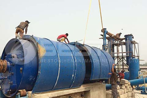 Installation of Oil Sludge Pyrolysis Plant in 2014