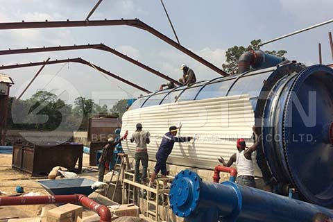 Installation of Oil Sludge Treatment Plant