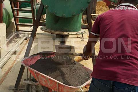 Solid Waste of Oil Sludge Pyrolysis Plant