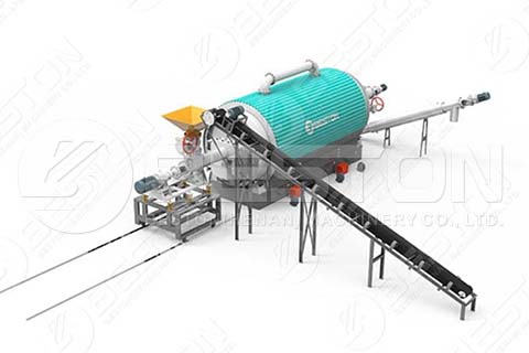 Feeding System for Continuous Tyre Pyrolysis Plant In India