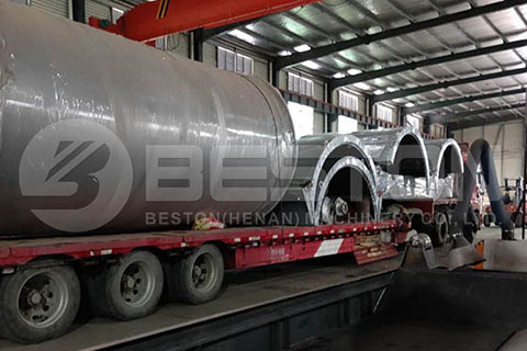 Waste Tyre Pyrolysis Machine to Romania