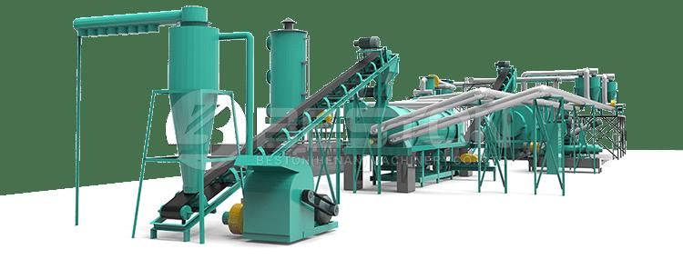 Biomass Pyrolysis Plant Design