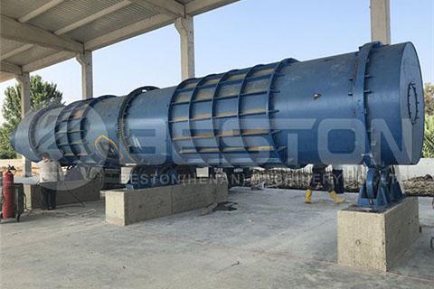 Biomass Pyrolysis Plant in Turkey