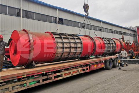 Sawdust Biochar Machine to Russia