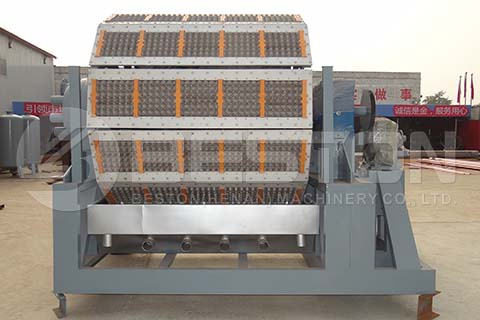12-side Egg Tray Molding Machine