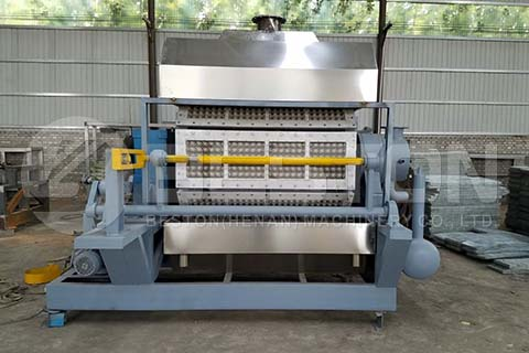 8-side Egg Tray Making Machine