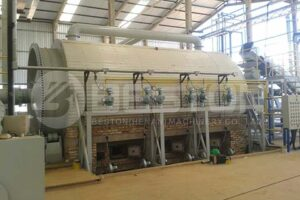 Beston Tyre Pyrolysis Machine in Brazil