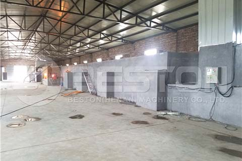 Brick Drying Line for Egg Tray Machine