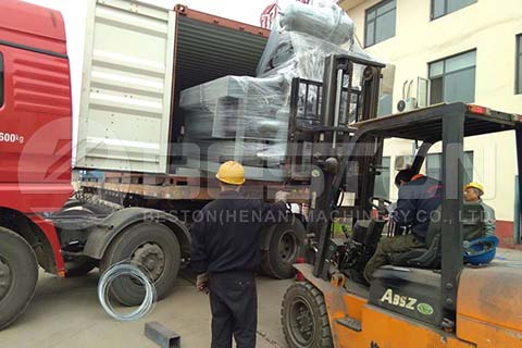 Egg Tray Machine to Sudan