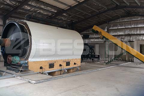 Tyre Pyrolysis Recycling Plant in Jordan