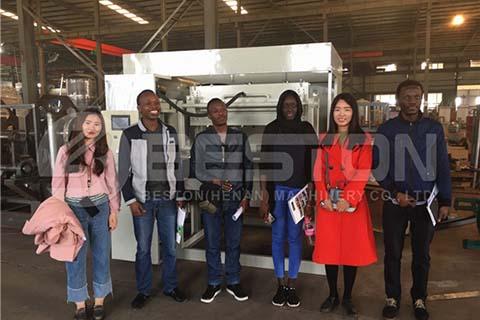Müşteriler Beston Fabrikasını Ziyaret Etti
