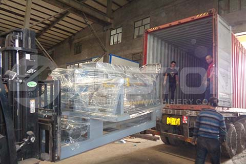 Egg Tray Machine to Dominica
