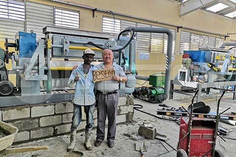 Installation in Dominica