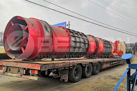 Sawdust Charcoal Making Machine to Russia