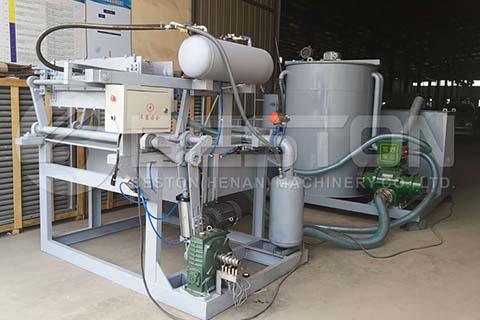 Máquina de bandejas de huevos BTF-1-3 a Argelia
