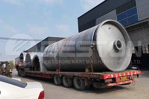 Pyrolysis Machine to Egypt