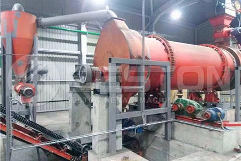 Biomass Charcoal Machine in Ukraine