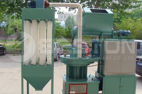 Diseño de máquinas de fabricación de pellets de biomasa