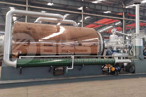 Skid mounted Mobile Pyrolysis Plant