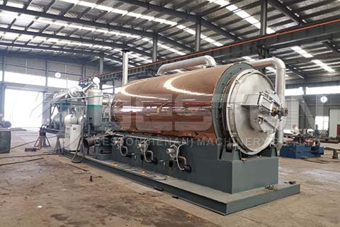 Beston Mobile Pyrolysis Machine