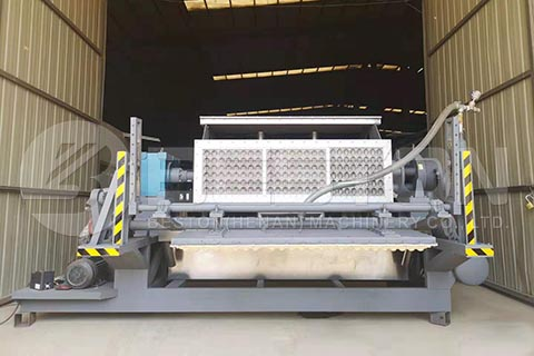 Máquina para fabricar bandejas de manzana a Brasil