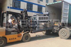 Guatemala'ya Yumurta Tepsisi Makinası