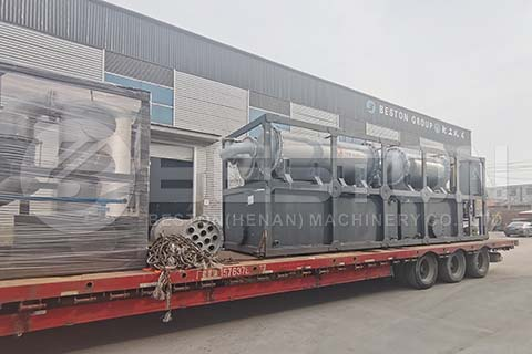 Pyrolysis Machine to Nigeria