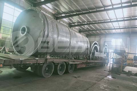 Pyrolysis Machine to India