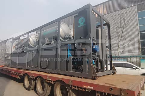 BLL-16 Pyrolysis Machine to Nigeria
