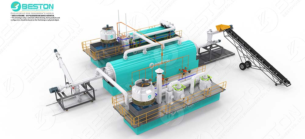 BLL-20 Continuous Pyrolysis Plant